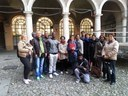 Group visiting Piazza Grande