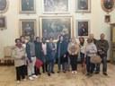 Un gruppo in visita a Palazzo Comunale